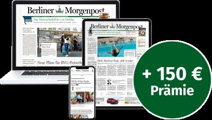 24 Monate die Morgenpost auf Ihrem Tablet lesen!