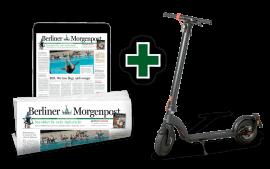 3 Wochen für 3 € lesen und E-Roller gewinnen!